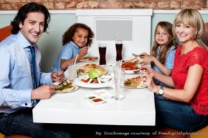 family-at-restaurant